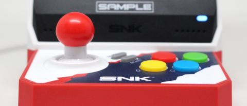 A photo of the SNK neogeo