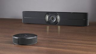 Vaddio is now shipping its new HuddleSHOT Conferencing Camera.