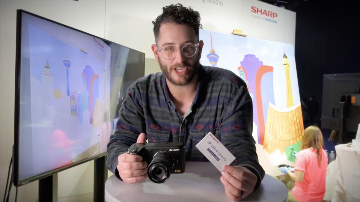 Sharp reveals the first 8K, sub-$5,000 video camera   Digital Camera