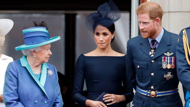 Queen Meghan and Harry
