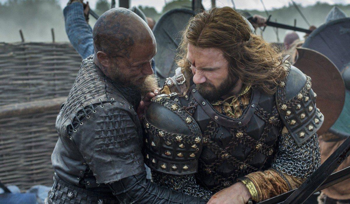 Vikings Travis Fimmel Ragnar Lothbrok Clive Standen Rollo History