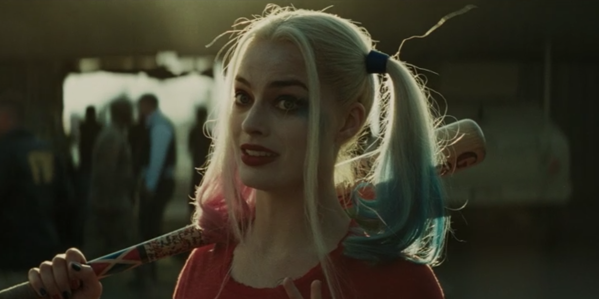 Margot Robbie's Harley Quinn in Suicide Squad