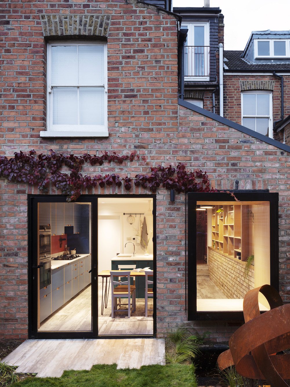 Design Project: A Victorian terrace with bags of built-in storage   Livingetc