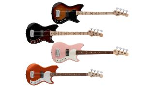 G&L Fullerton Deluxe Fallout Short Scale Bass
