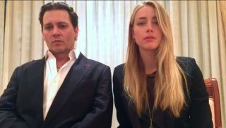 Actors Johnny Depp and Amber Heard act contrite for violating Australia's biosecurity laws, in an apology video posted by Australian government officials on YouTube.