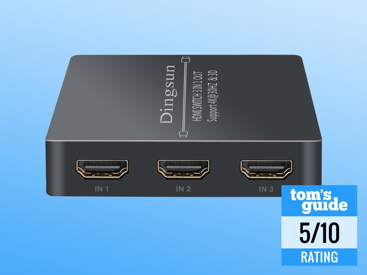 2 Way Hdmi Switch With Remote