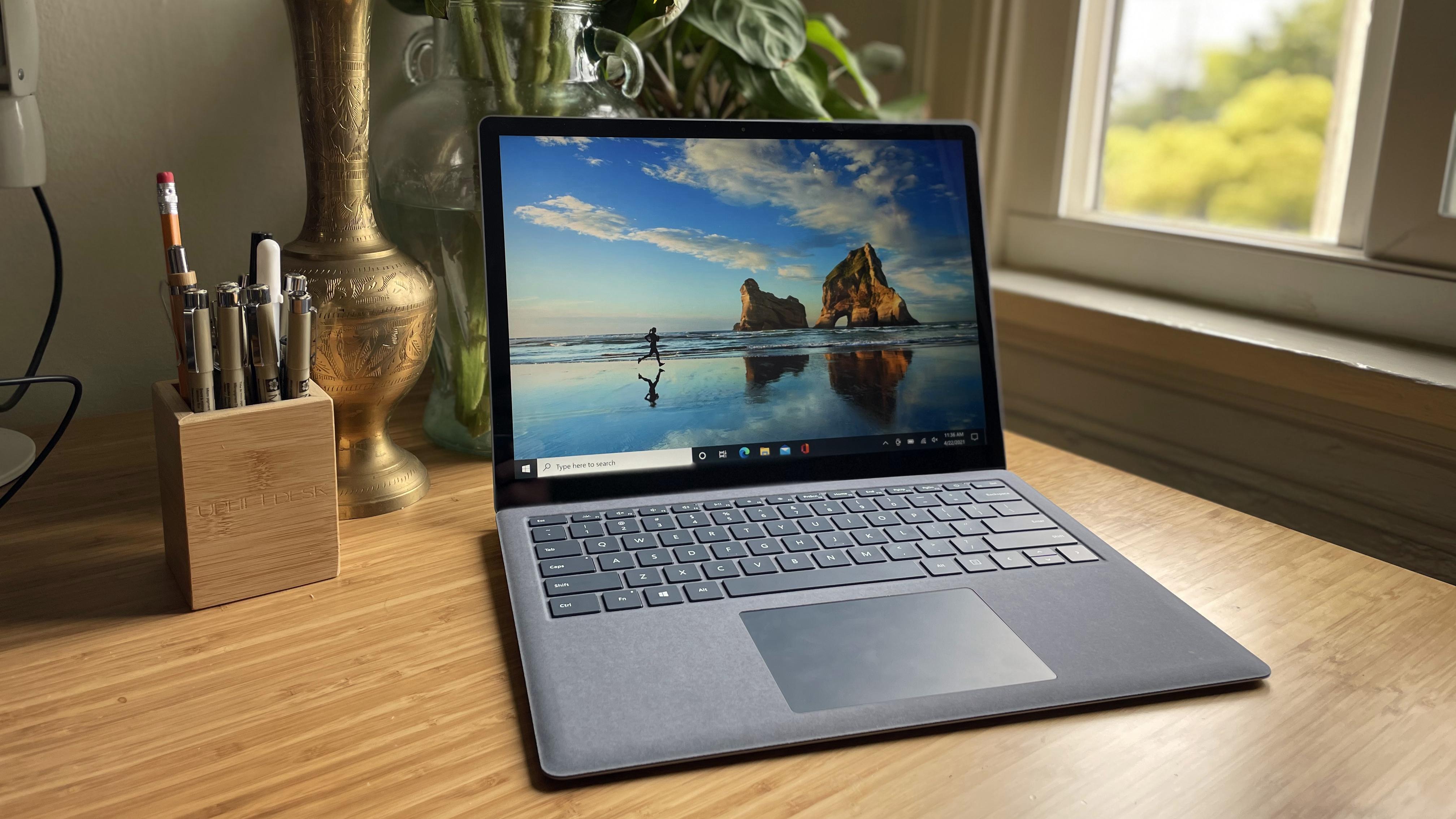 best touchscreen laptops: Microsoft Surface Laptop 4