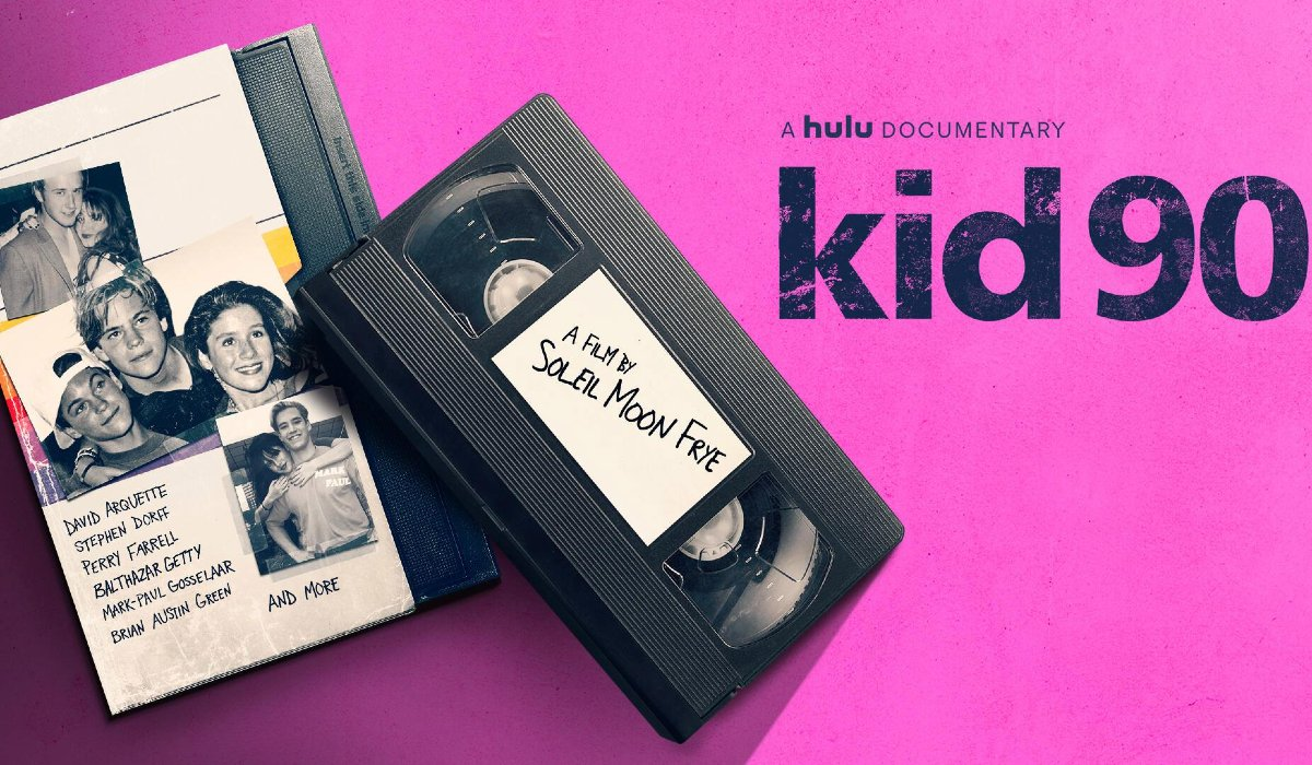 kid90 two video tapes on a purple background