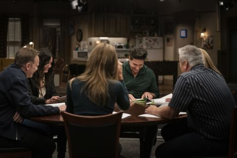 The cast of 'Friends' sit down for a reunion special.