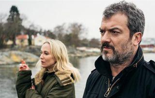 Anja Lundqvist as Kim Leko and Dragomir Mrsic as Alex Leko