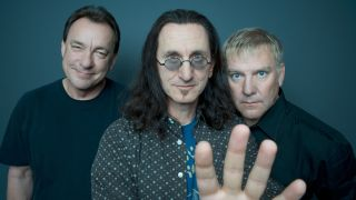 Neil Peart, Geddy Lee and Alex Lifeson