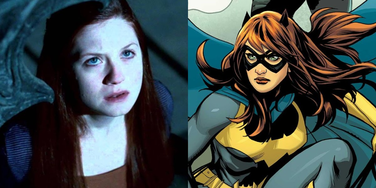 Bonnie Wright and Batgirl