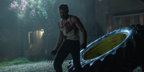 Wolverine claws unsheathed in Logan