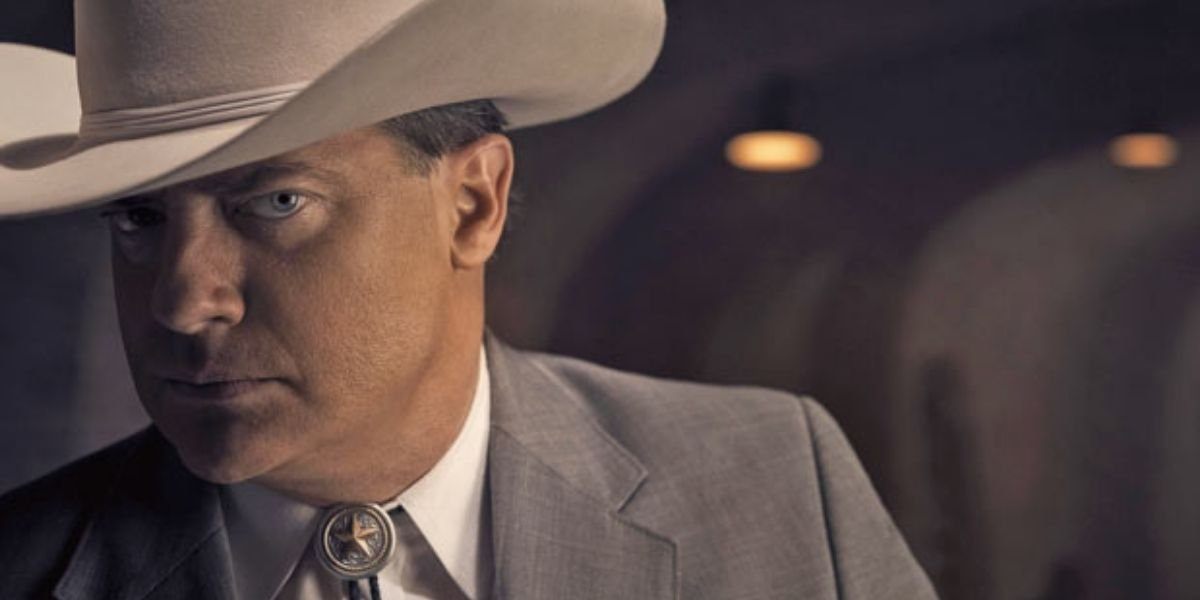 Brendan Fraser in a cowboy hat
