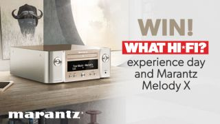 Win a day at the What Hi-Fi? test rooms and a Marantz Melody X