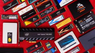 Collection of various ssds