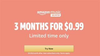 Early Prime Day deal: Get four months of Amazon Music Unlimited for $0.99