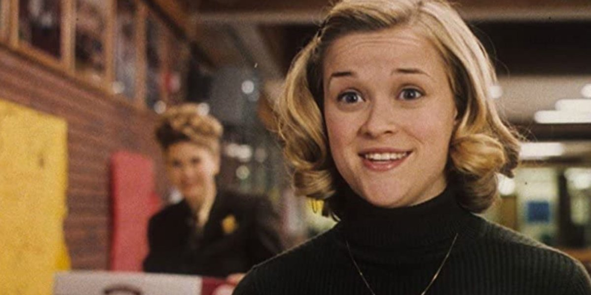 Reese Witherspoon as Tracy in the movie Election.
