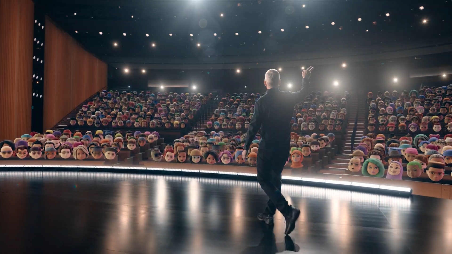 """WWDC 2021"" ekrano kopija"