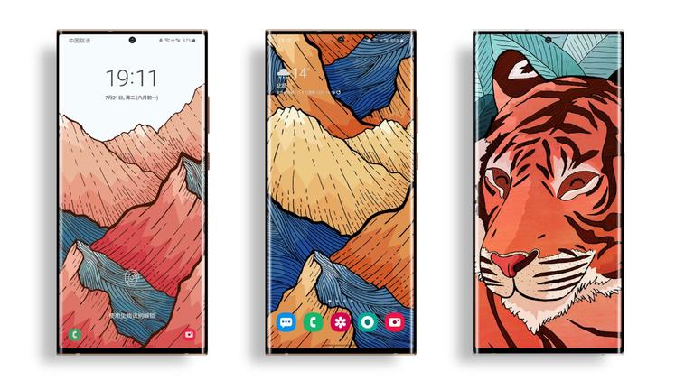 Galaxy Note 20 Ultra renders