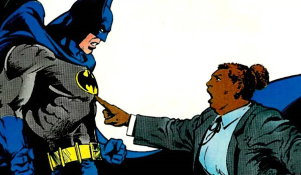 Batman Amanda Waller DC