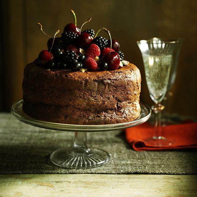 Chocolate and Hazelnut Mousse Cake