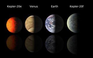 Kepler-20e and Kepler-20f