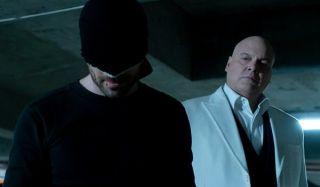 Matt Murdock Wilson Fisk Charlie Cox Vincent D'onofrio Daredevil Netflix