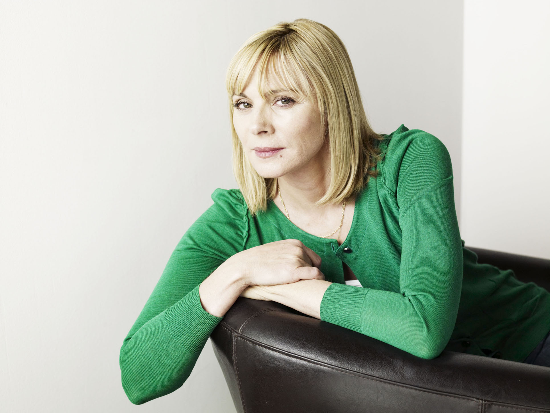 A quick chat with Kim Cattrall