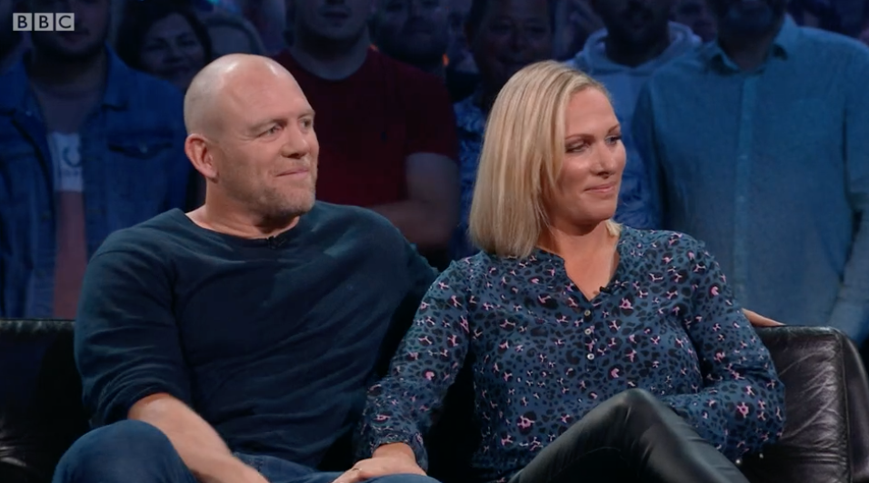 Viewers were absolutely loving Zara and Mike Tindall's amazing chemistry on Top Gear