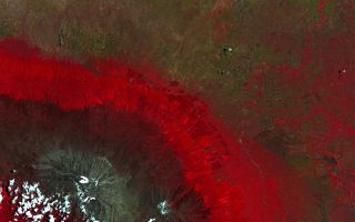 Earth From Space: Mount Kilimanjaro