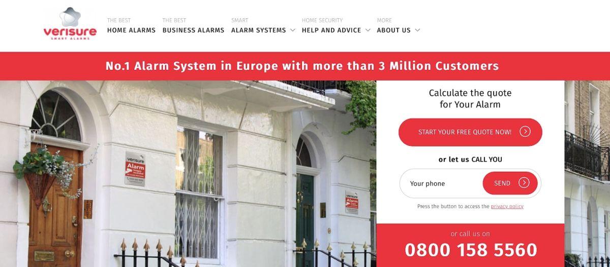 Verisure home security provider