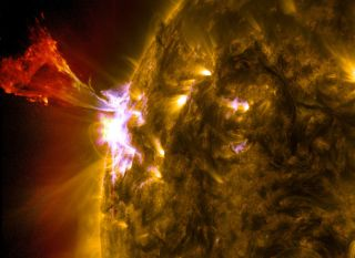 Solar flare on May 3, 2013