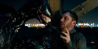Tom Hardy and Venom in the 2018 film