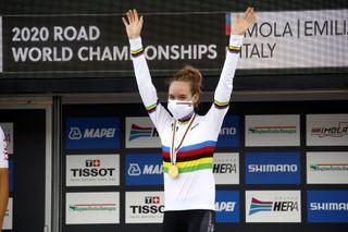 Road World Championships Imola 2020 Women Elite Time Trial Imola Imola 317 km 24092020 Anna Van Der Breggen Netherlands photo Roberto BettiniBettiniPhoto2020
