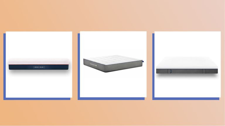 A collage image featuring a selection of our pick of the best mattresses