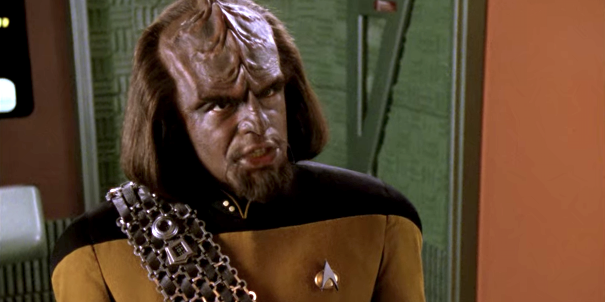 Why One Of Star Trek: The Next Generation's Key Worf Storylines Almost Didn't Happen