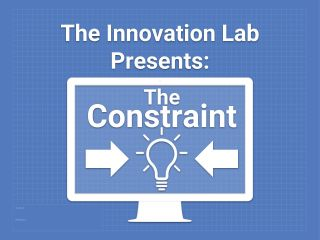Gamification Stage Three: The Constraint