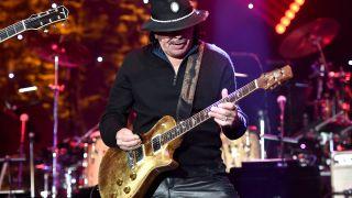 Carlos Santana's Supernatural Guitar Collection