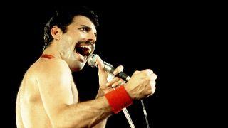 Queen lead singer Freddie Mercury