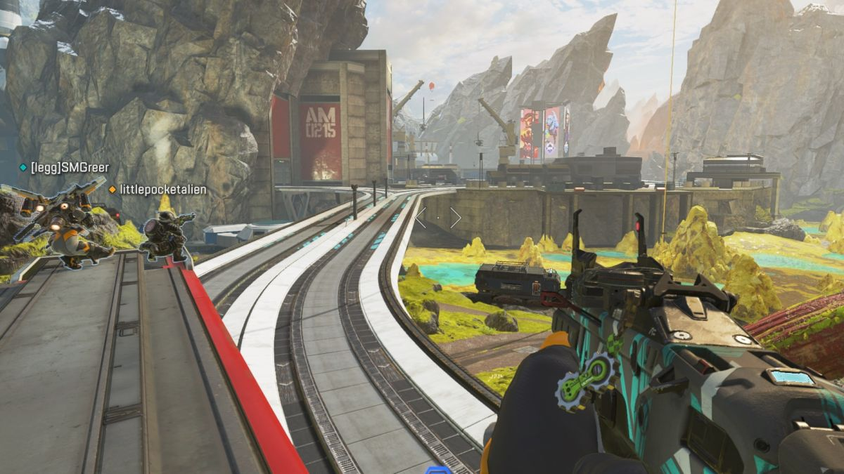 Apex Legends' train deserves a permanent comeback