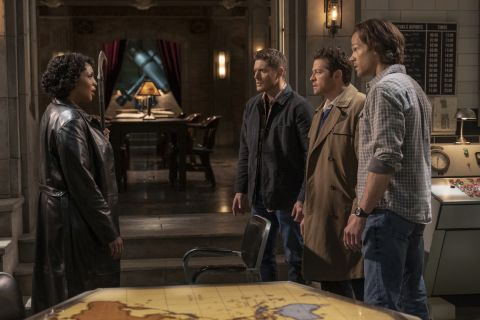 "Billie confronts Team Free Will after their ""betrayal."""