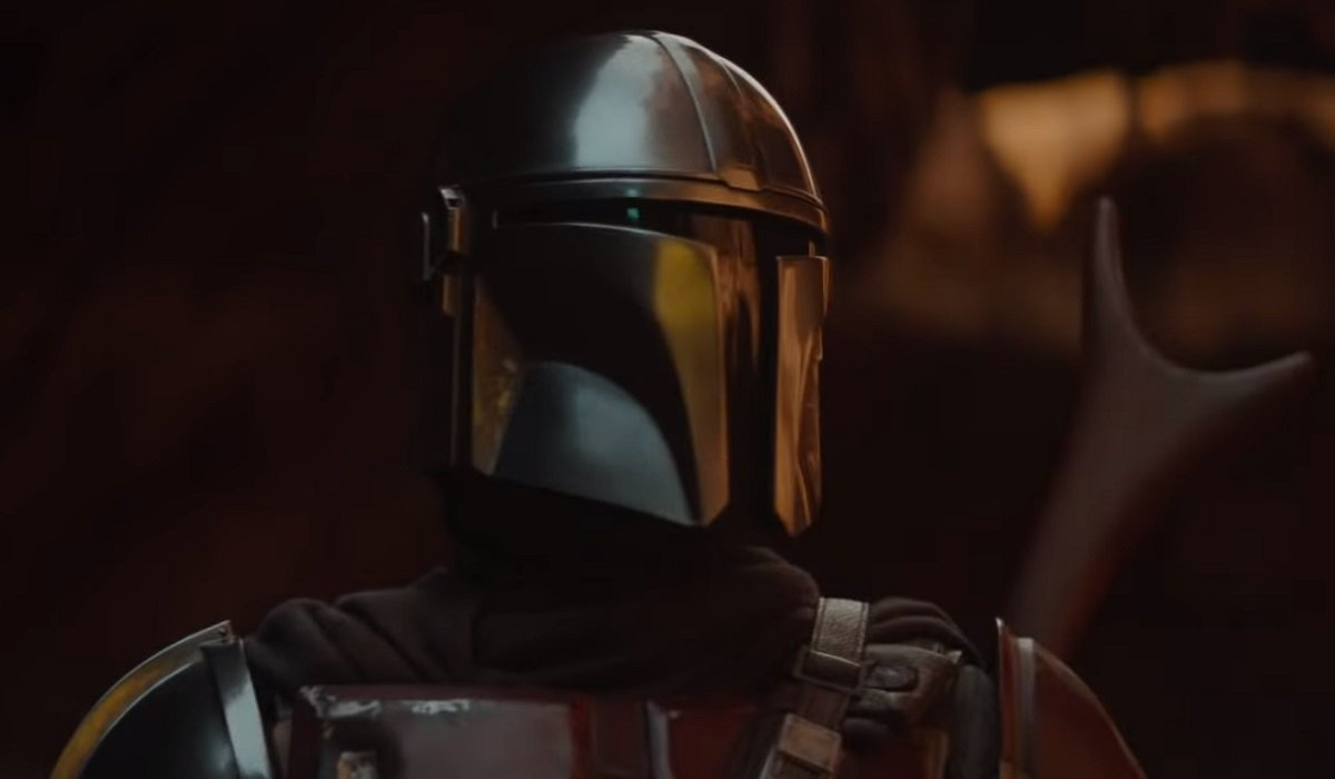 The Mandalorian helmet Star Wars
