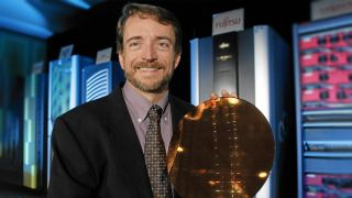 Golden-era Gelsinger shows off Intel's wafer wares...