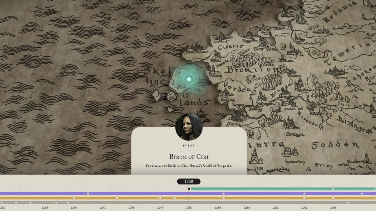 The Witcher on Netflix now has an interactive map, and it's amazing