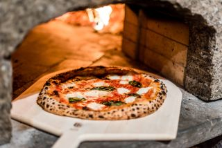 brick oven, pizza