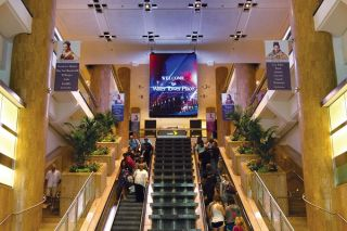 Chicago's Water Tower Place Installs Daktronics Large-Format Indoor LED Banner