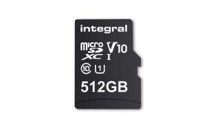 The Integral Memory microSD storage card