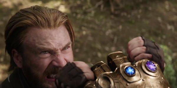 chris evans steve rogers captain america avengers infinity war