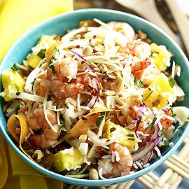 King prawn and pineapple vietnamese salad-feel good recipes-woman and home